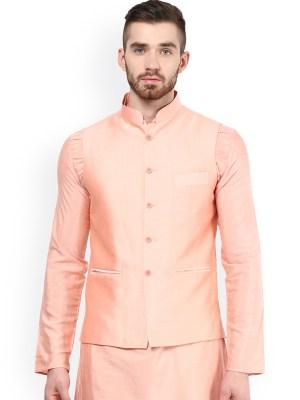 Pink Nehru Jacket