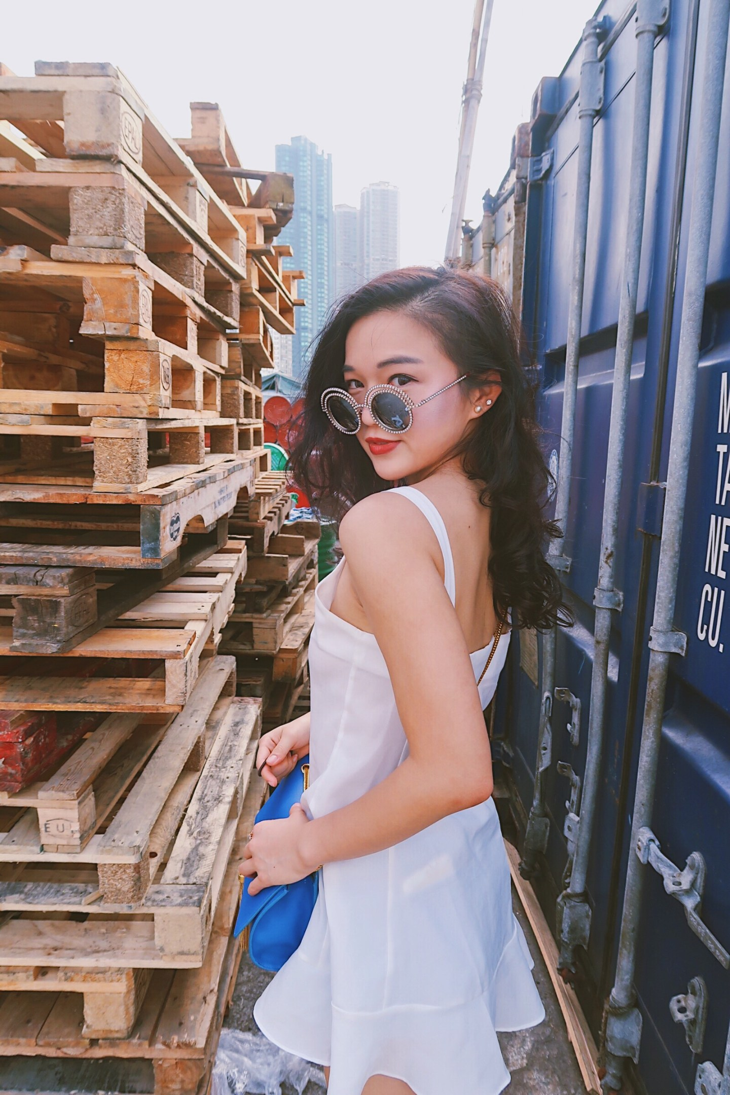 Spring Anthem | The Perfect Place for OOTD in Hong Kong | Instagram Pier