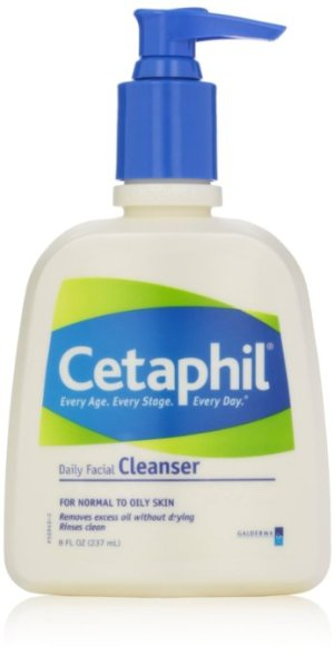 """Cetaphil"" Facial Cleanser for Normal to Oily Skin"