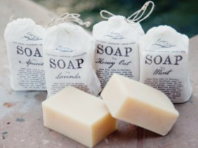 soap to clean green