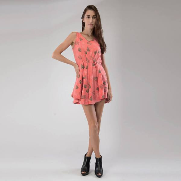 Organic Cotton dress Full Length