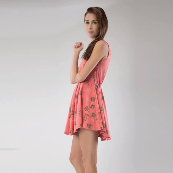 Organic Cotton dress Side