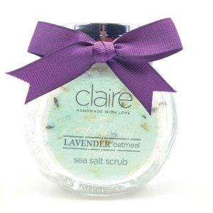 Claire Lavender Body scrub