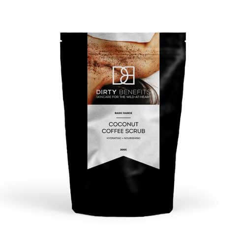 Coconut Coffee Scrub Dirty Benefits