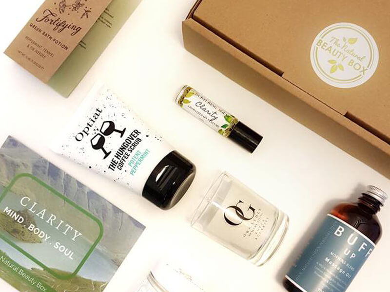 Natural beauty box