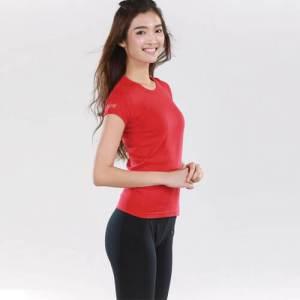 Red Organic Cotton T-shirt
