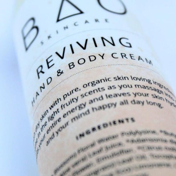 REVIVING Natural Body Hand Cream Attitude Organic
