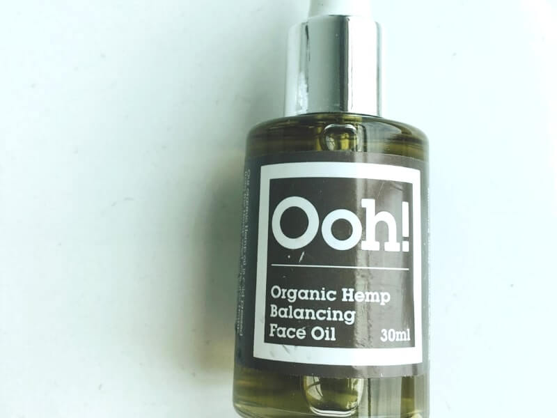 The Ooh! Organic Hemp Balancing Face Oil