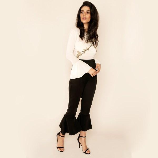 Attitude Organic Ashlee Trousers Claudia Ethical Bodysuit