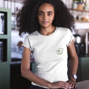 Brunch Club Organic Cotton T-shirt Attitude Organic