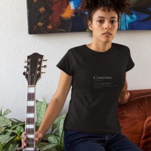 Conscious Organic Cotton T-shirt Black
