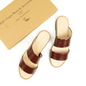 two strap ethical sandals