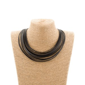 CARTER RECYCLED RUBBER NECKLACE