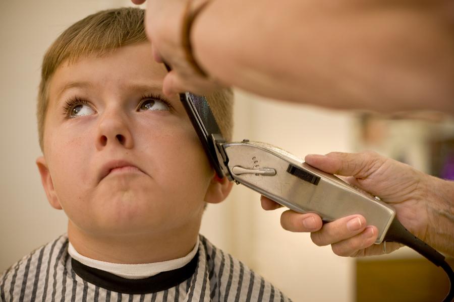 children s haircut attitude