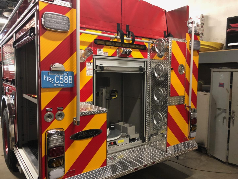 Attleboro Fire Department Preparing New Engine For Service