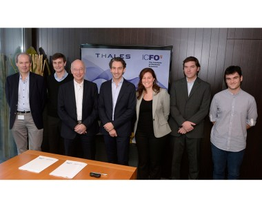 Thales and ICFO sign a cooperation agreement on laser technology
