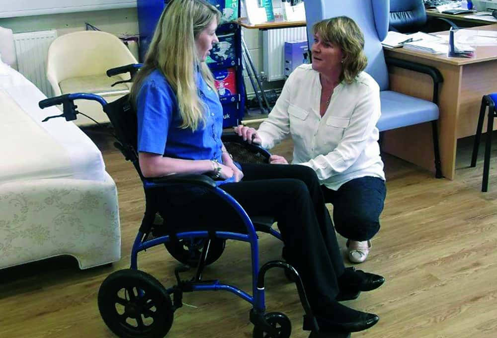 posture promoting chair ford explorer captains chairs 2017 healthy for wheelchair users through appropriate rks assessment