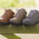 Walking boots and walking shoes suitable for people with swollen feet