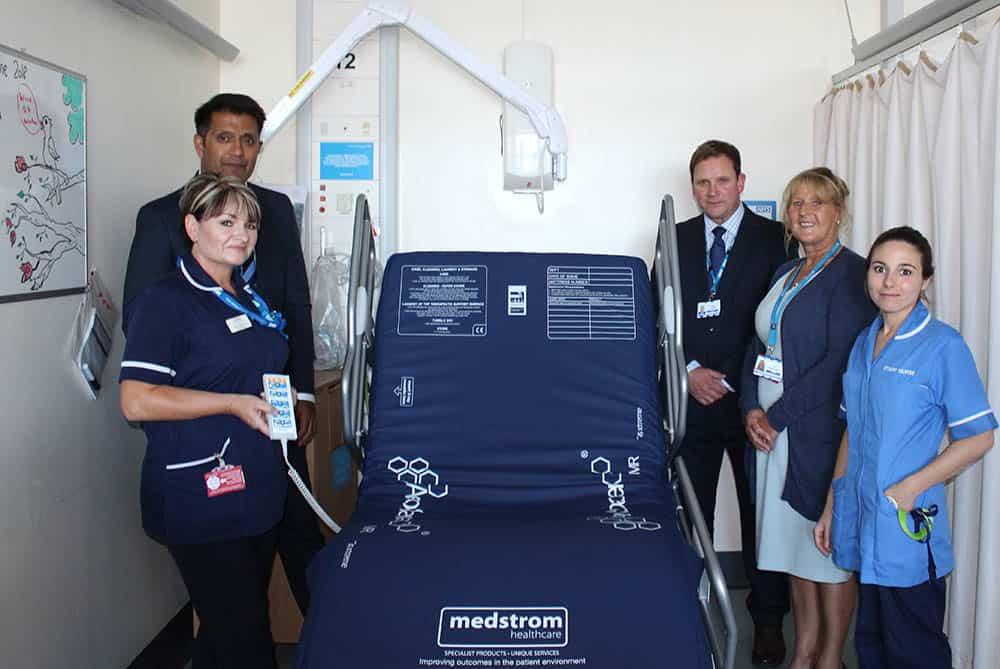 Medstrom bed for NHS Trust
