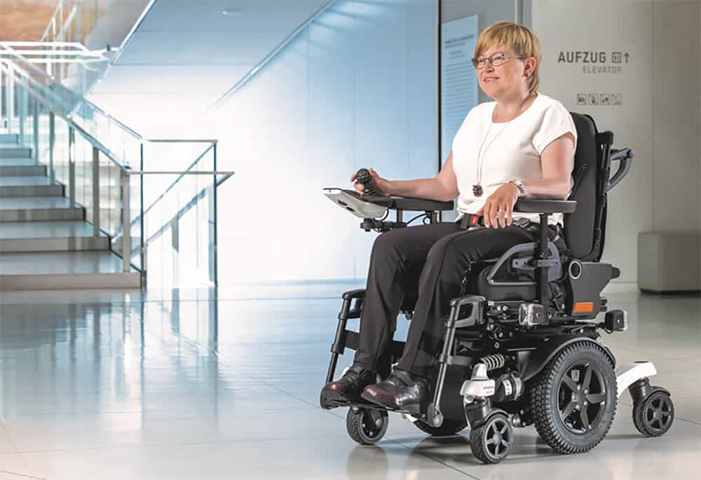 Ottobock Juvo mid-wheel drive powered wheelchair image