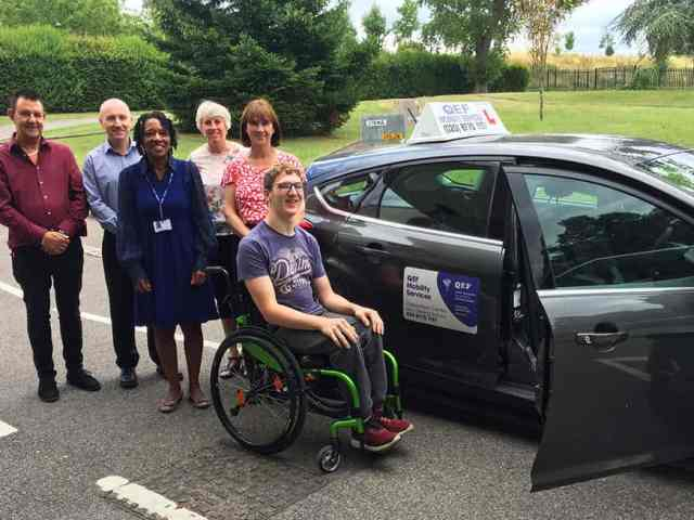 Popular Get Going Live! event relaunches to help young disabled drivers learn to drive