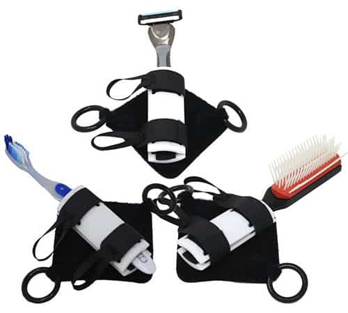 Men;'s grooming items with small gripping item