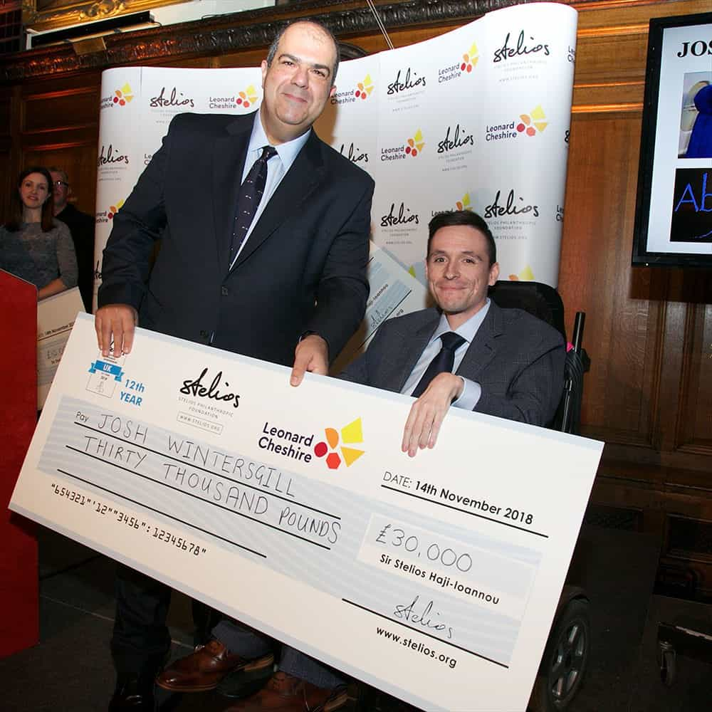 Able Move receives Stelios Award for Disabled Entrepreneurs 2018 image