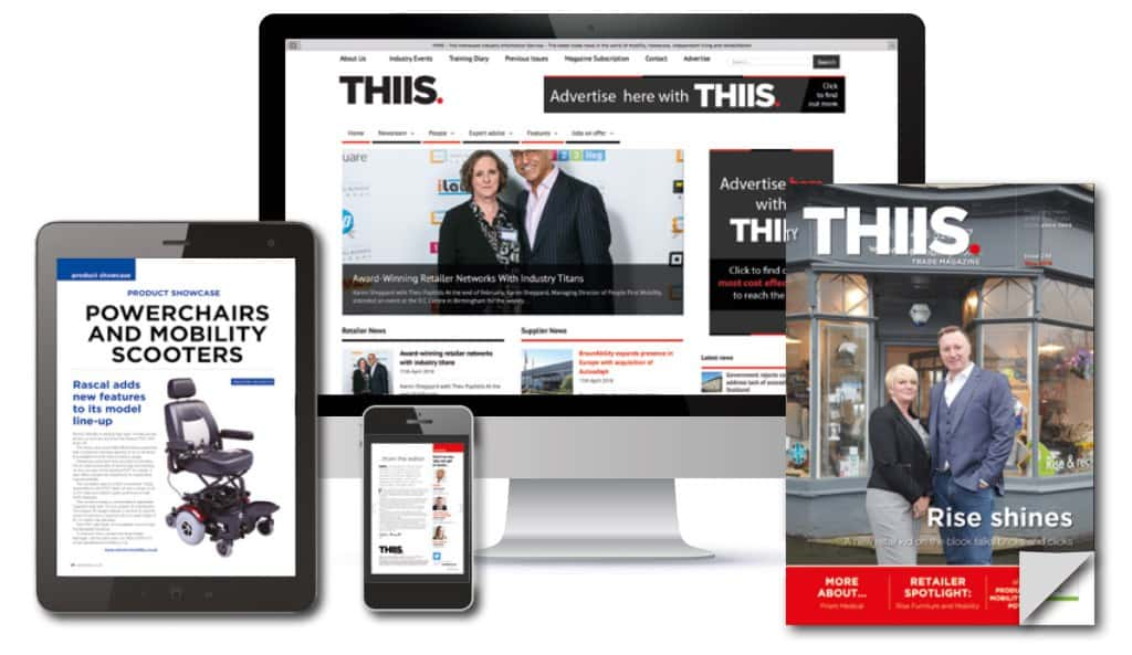 THIIS Trade Magazine in print, online and smartphone