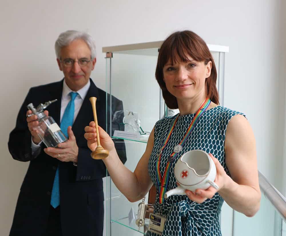 Dennis Robb and Lisa Abbott image