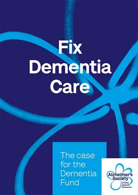 Fix Dementia Care report image