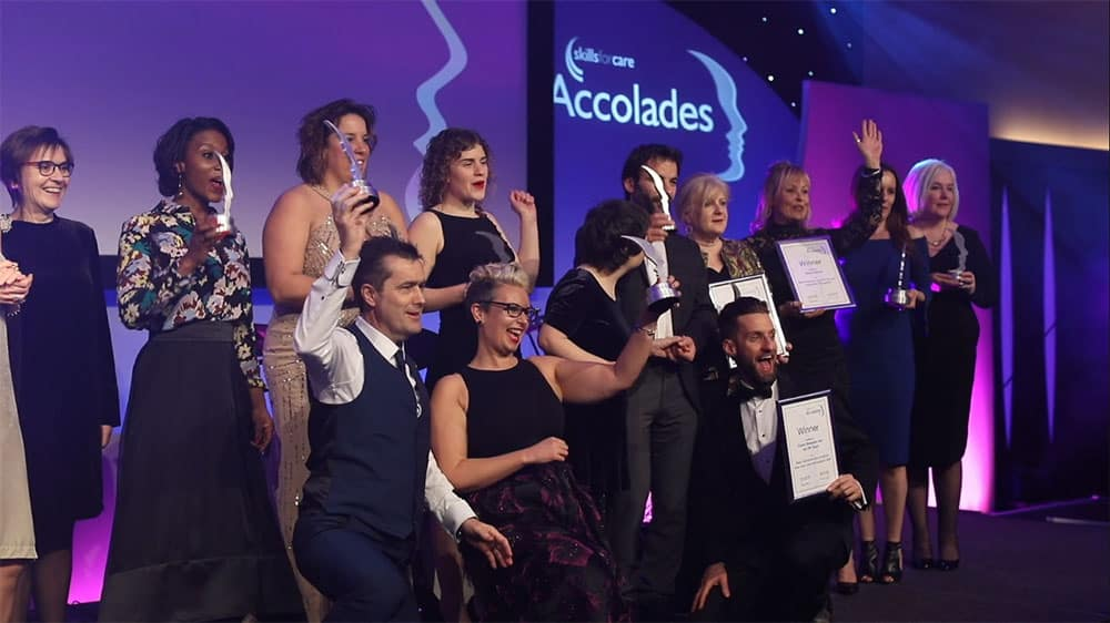 Skills for Care Accolades image