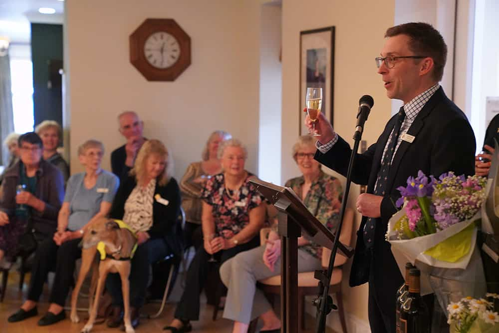 The Royal Star & Garter Homes volunteer awards ceremony image