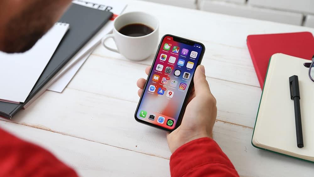 Smartphone apps image