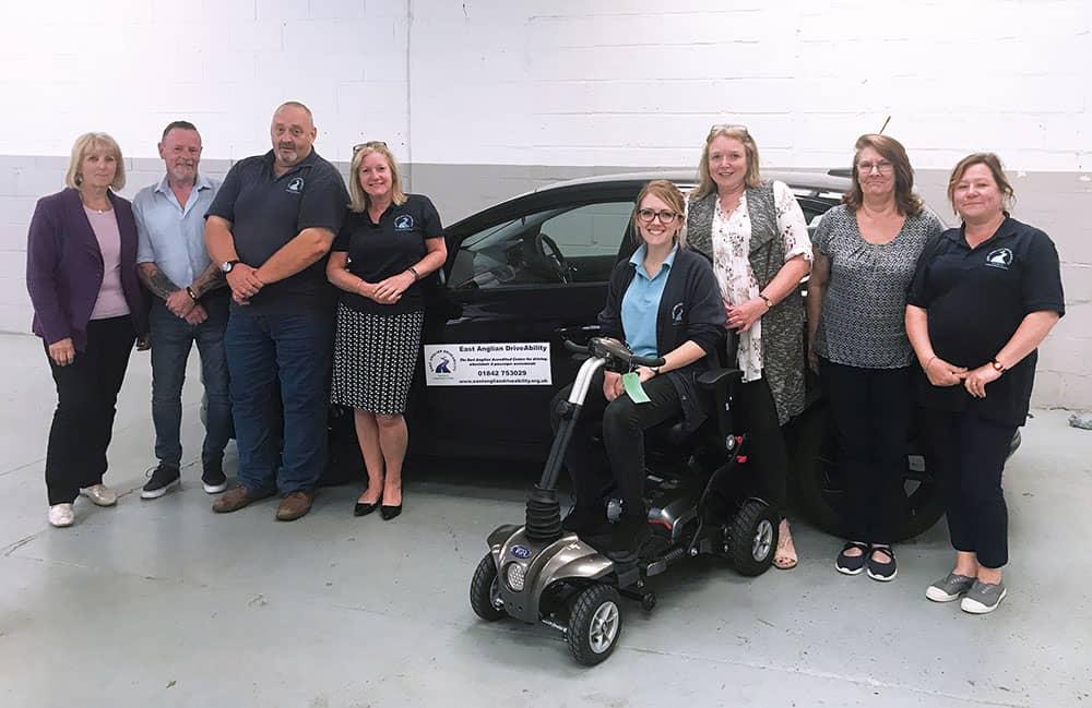 East Anglian DriveAbility team image
