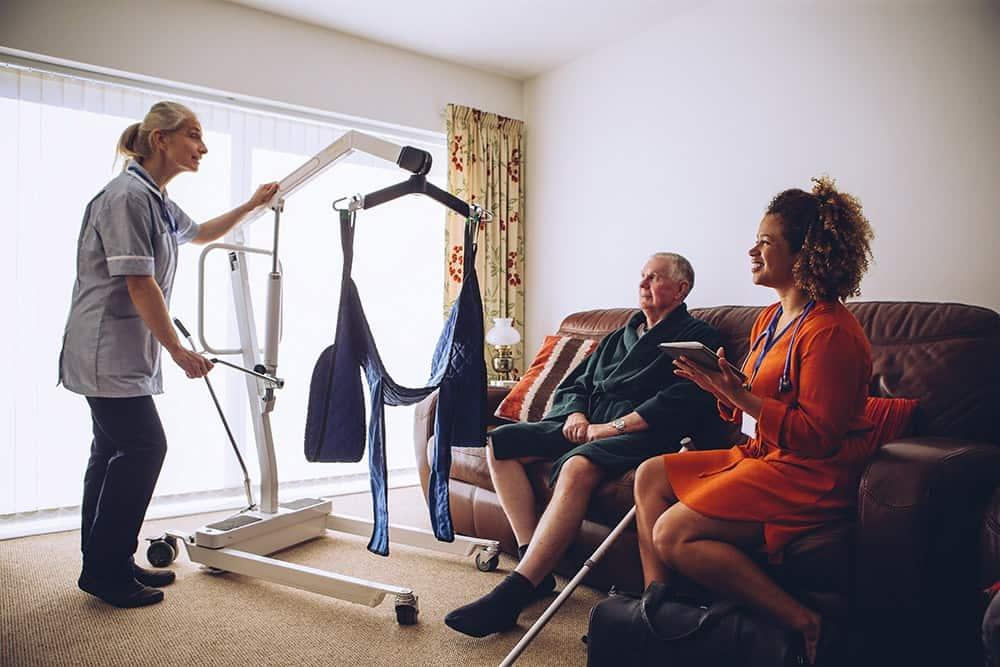 Homecare nurses carer