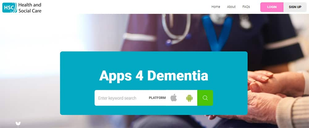 apps4dementia library image