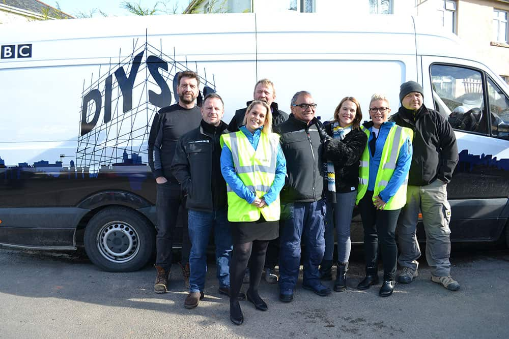 Repose with the DIY SOS team image
