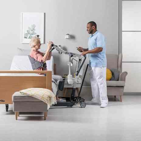 Invacare ISA Stand Assist Lifter image