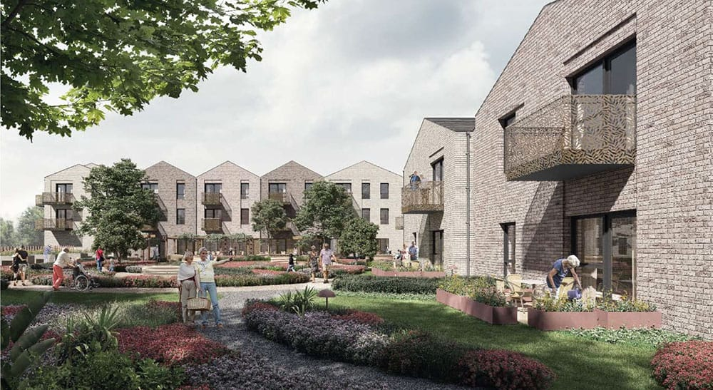 Morgan Ashley Care Developments extra care housing in Leeds image
