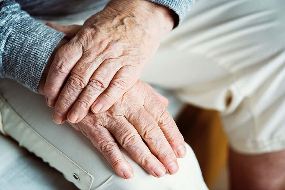 elderly hands image