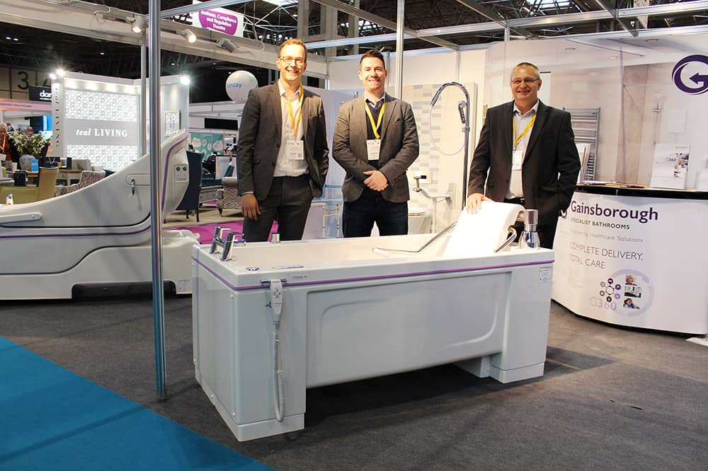 Gainsborough Specialist Bathrooms at The Care Show 2019 image