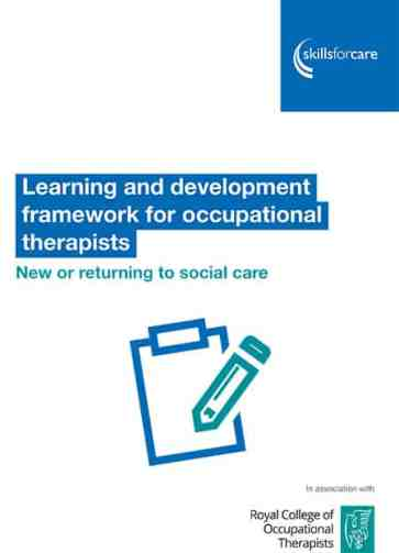Learning and development framework for occupational therapists image