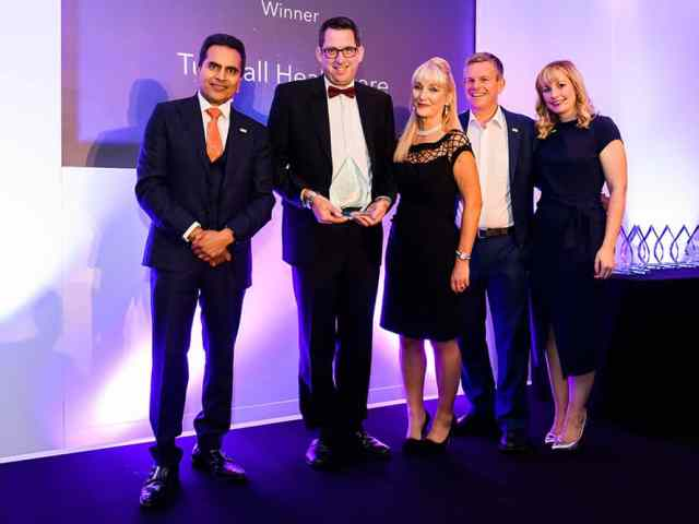 Tunstall Healthcare receives Leaders in Care award image