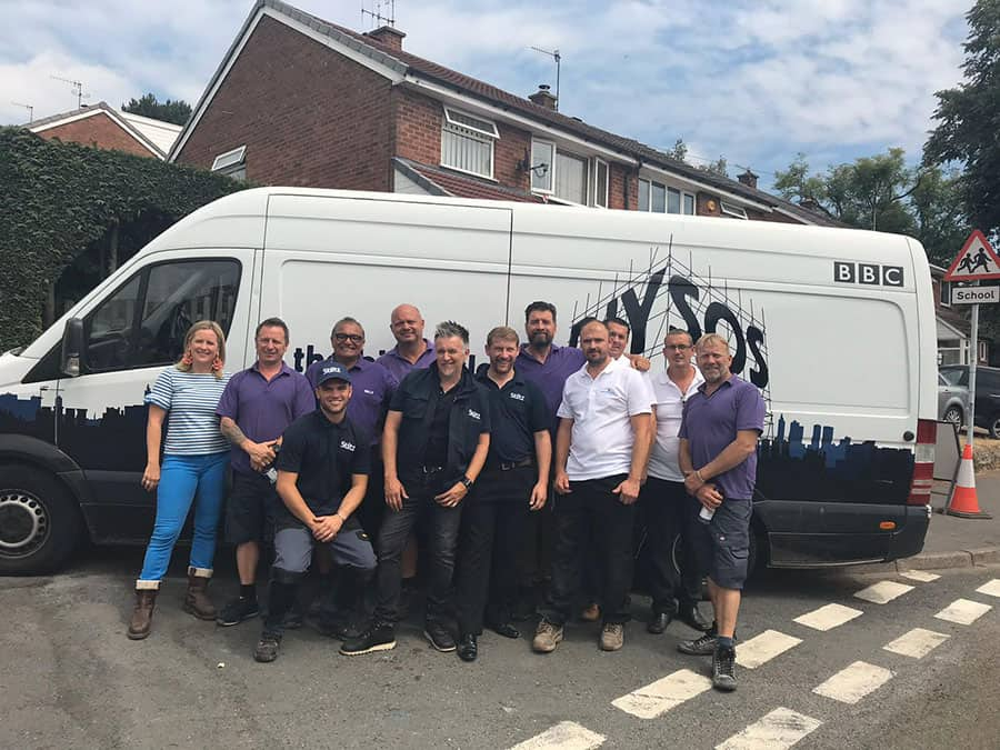 Dolphin Lifts Midlands on BBC DIY SOS image