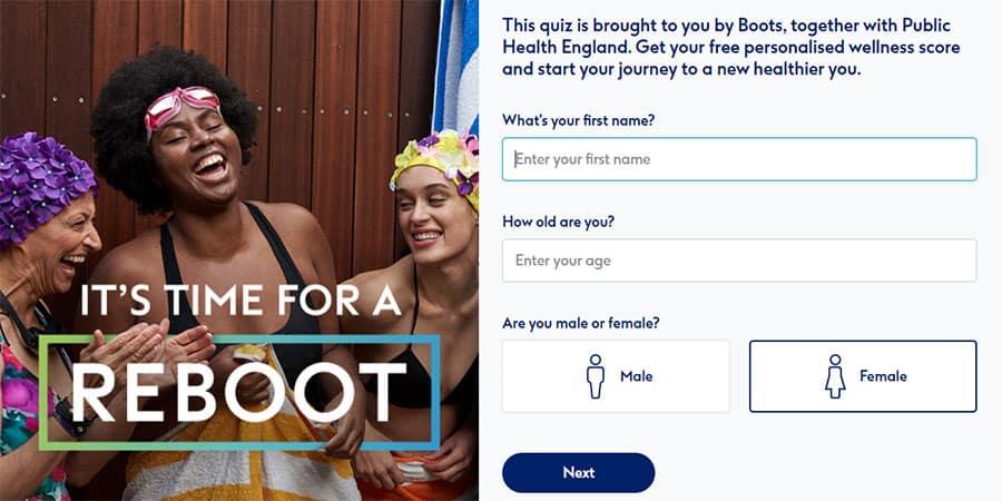 Reboot Quiz image