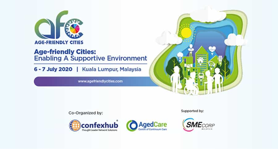 Age-Friendly Cities Conference and Exhibition 2020 image