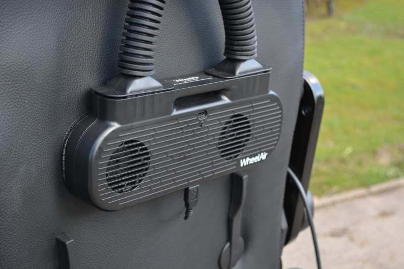 WheelAir V2 on the Precision Rehab Paravan PR50 powerchair image