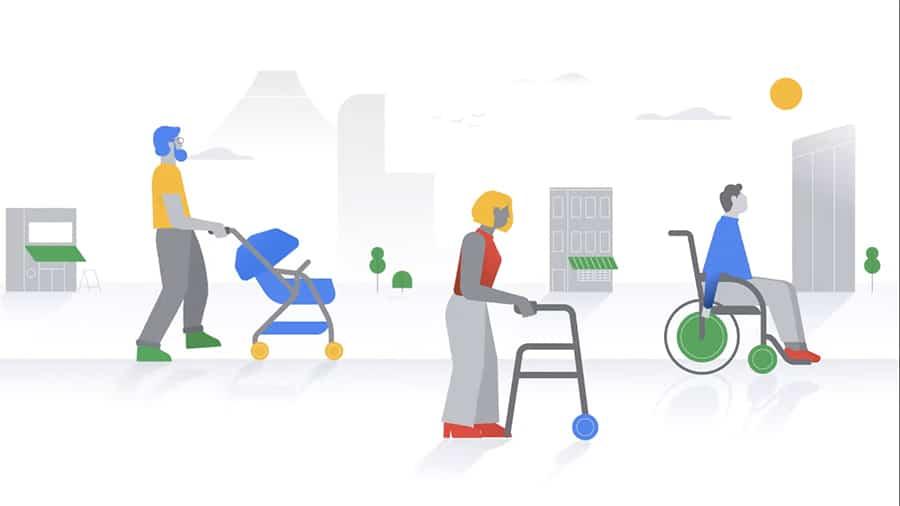 Google Maps Accessible Places image