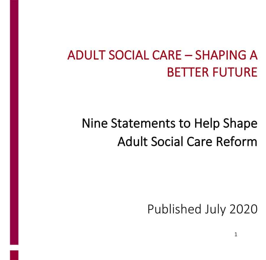 ADASS social care reform image
