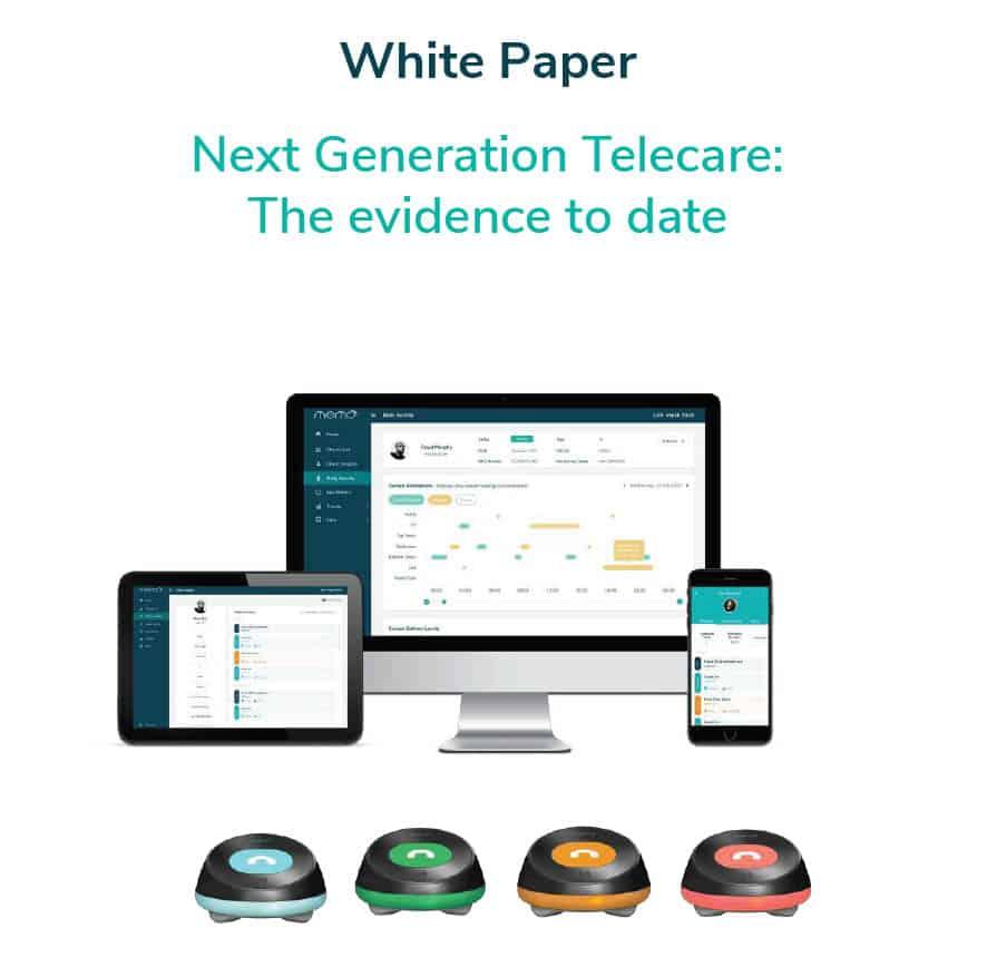 Alcuris next generation telecare whitepaper image